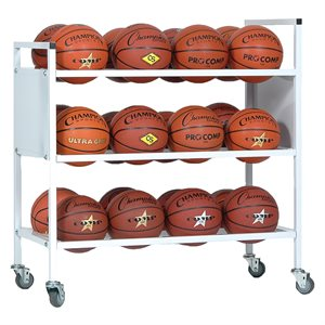 24 Ball double wide ball cart