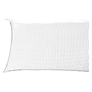 Institutional badminton net, 20'