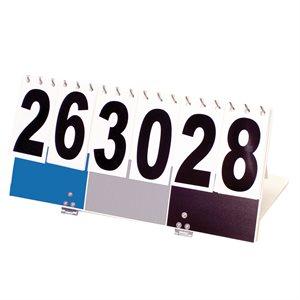KIN-BALL® scoreboard, blue / grey / black