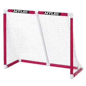 "PVC foldable hockey goal, 54"" x 44"" x 24"""