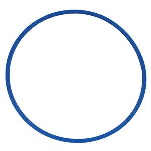 Heavy-duty flat hoop, blue