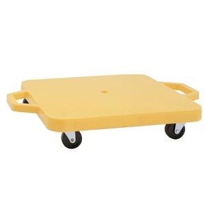 "Scooter board w / handles, 16""x16"""