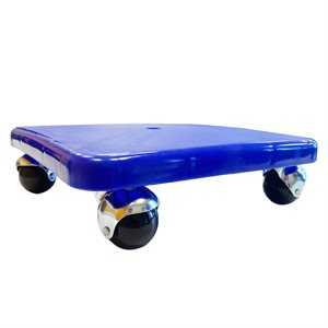Scooter board w / o handles, round castors