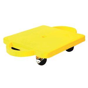 Scooter board w / handles, round castors