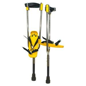 Actoy stilts, child