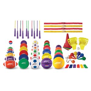 Set of 100 game items for school daycare