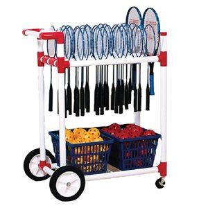 All terrain racket cart