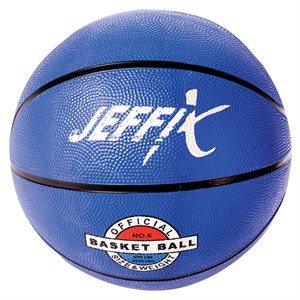 Recreational rubber basketball
