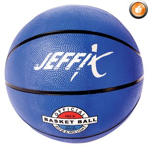 Recreational rubber basketball