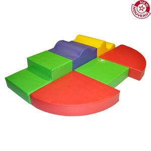 Foam module set, 6 pieces