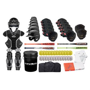 Baseball / Softball kit for high schools