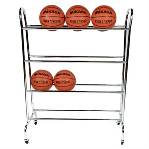 4 row ball cart