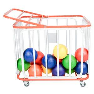 Aluminum ball cart