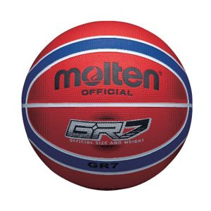 Molten basketball, red / blue, #5