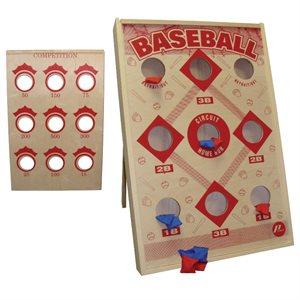 Baseball sand bag game