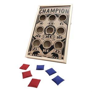 Champion sand bag game