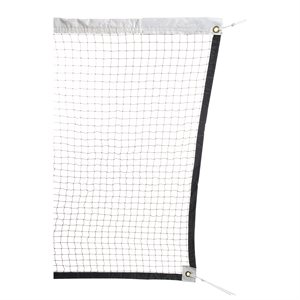 Tournament badminton net, nylon cable