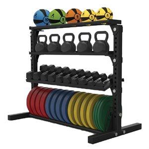 Multi-purpose storage rack