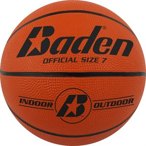 Rubber basketball, outdoor, #7
