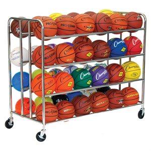 Four level ball cart