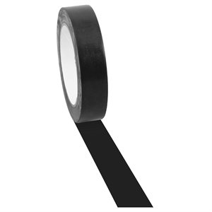 Flooring tape, black