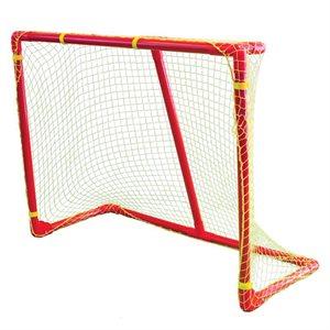 PVC hockey goal with net