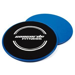 Pair of gliding training discs