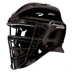 Baseball catcher's helmet