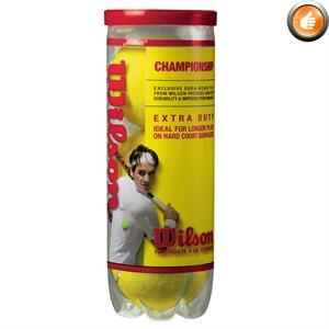 3 Wilson Championship tennis balls