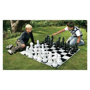 Medium sized chess set