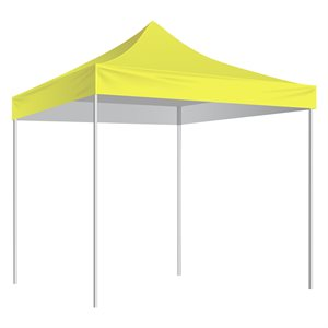 10'x10' shelter, yellow