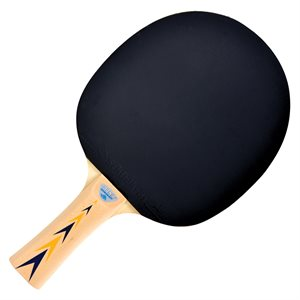 Table tennis paddle, five-ply blade
