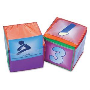 Pocket foam cube, 32cm