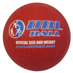 """Official DBL ball, 8,5"""", red"""