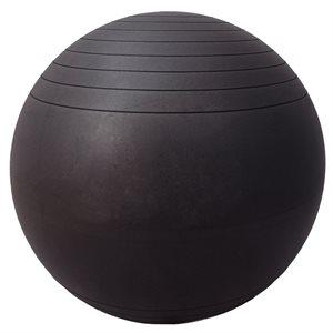 Anti-burst inflatable fitness ball