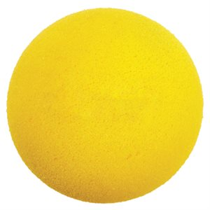 Uncoated foam ball