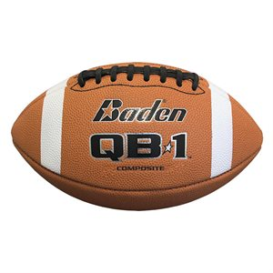 Baden composite leather football, #9