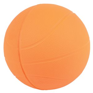 Sponge rubber basketball