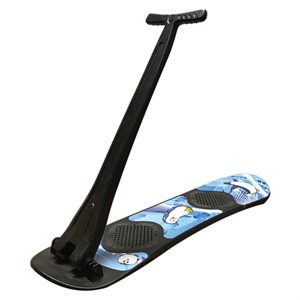 Foldable snow scooter