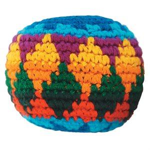 Crocheted hacky sack