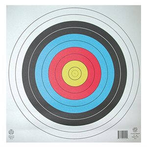 Round paper target
