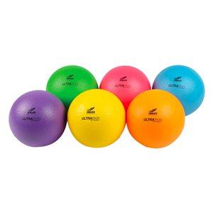 6 neon foam balls Ultraskin