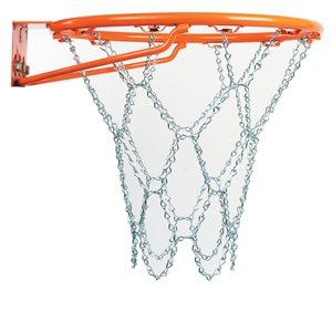 Metallic basketball net
