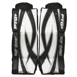Lightweight hockey goalie pads