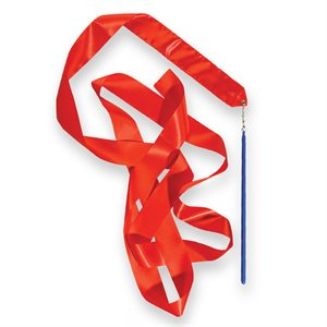 Rythmic ribbon, red