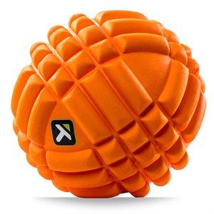 "GRID foam ball, 5"" orange"