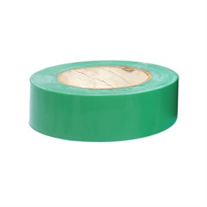 "Heavy vinyl tape, 1 ½"" x 180', green"