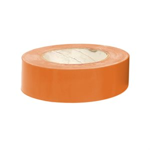 "Heavy vinyl tape, 1 ½"" x 180', orange"