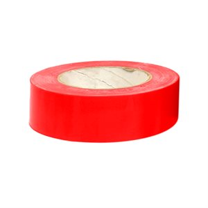 "Heavy vinyl tape, 1 ½"" x 180', red"
