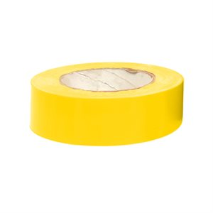 "Heavy vinyl tape, 1 ½"" x 180', yellow"
